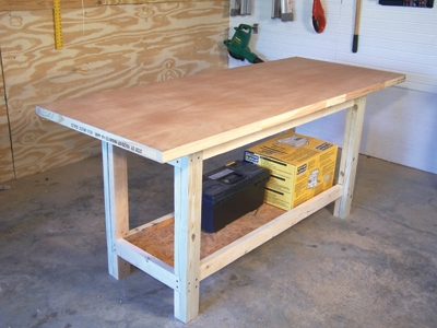 build simple workbench plans