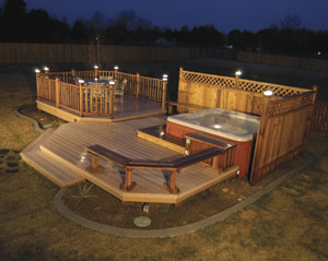 Bright ideas for deck lights extreme how to bright ideas for deck lights aloadofball Gallery