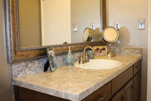 Great Paint A Countertop To Look Like Granite