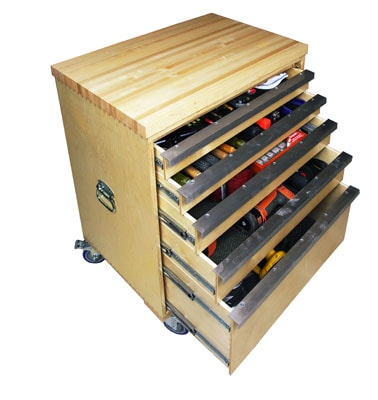 Diy Wooden Tool Chest for Pinterest