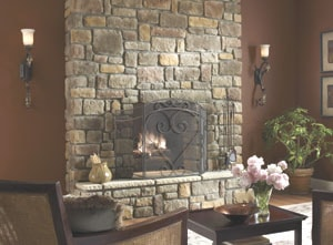 Installing stone veneer extreme how to for Stonecraft fireplaces