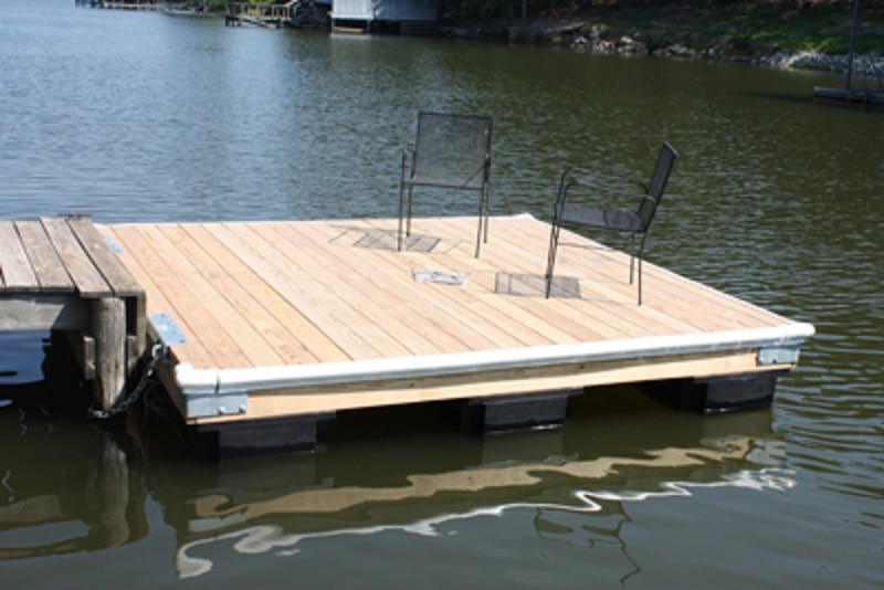 Build Your Own Swimming Dock Extreme How To