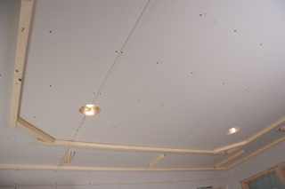 Tray 2 Tray Ceiling Installation for Homeowners