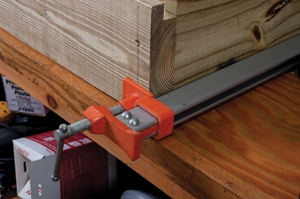 When assembling, use a long clamp as a second set of hands.