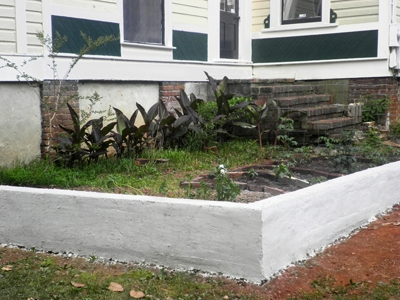 Garden Bed Over Concrete