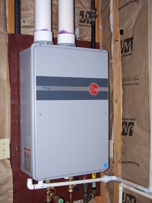 Condensing Tankless Water Heater Rheem