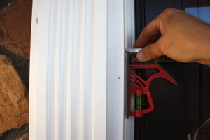 Keep a consistent reveal as you install the trim package.