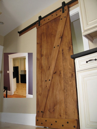 Interior Barn Door designing, building and installing an interior barn door - extreme
