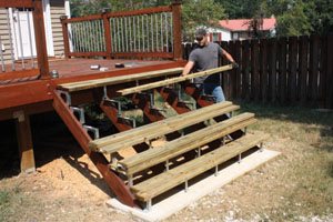Deck Stairs Step By Step Extreme How To