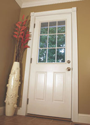 Installing a new exterior door extreme how to for New front door