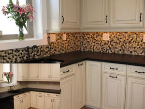 02n03 DIY Quick and Easy Backsplash