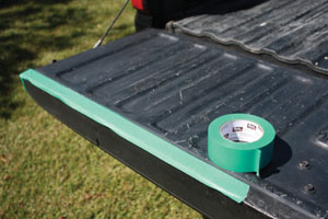 Bed Liner 5 Apply a Roll on Truck Bed Liner