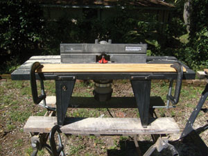 Make your own moulding for a quarter of the price extreme how to the milling setup for shaping the quarter round consisted of a router router table keyboard keysfo Images