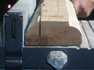 Up to three 3/4-in. moulding profiles can be made from a single 2x4.