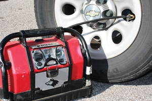 Basic Air Compressor inflates Tires and other objects. Choose the Right Air Compressor