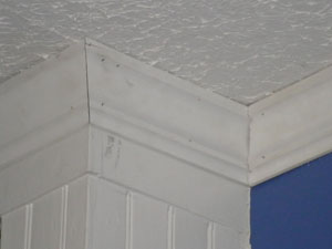 Outside corners on square walls