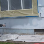 Paint with an airless Sprayer