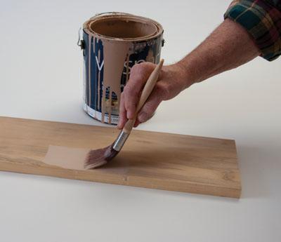 Polyeser and nylon-bristle brushes