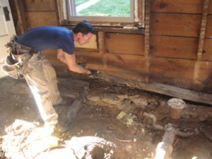 Replace A Rotten Sill Plate Extreme