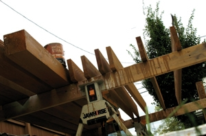 Maximize western red cedar's life by using oil-based stain.