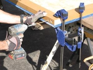 Pre-drilling/countersinking