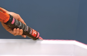 Red Devil Caulking