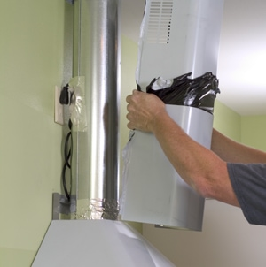 Exhaust Heat Wrap >> Range Hood Installation - Extreme How To