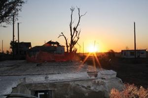 Devastation of the city of Joplin, Missouri.