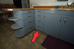 Reconfiguring Kitchen Cabinets To Install A Dishwasher