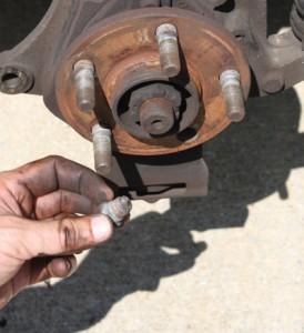 Replace a Broken Lug Nut Stud