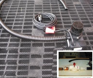 Water Pumps To Recirculate Slucebox Water 24