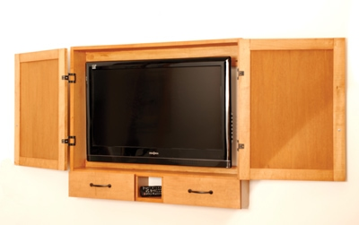 Build A Flat Screen Cabinet With Wood Jigs