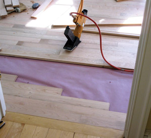 Stagger the joints of your Floor Boards