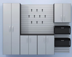 flow wall cabinets the slatwall system installed in the eht workshop is by flow wall which has expanded its product line to include cabinet