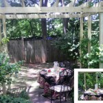 Building a Wooden Rose Arbor