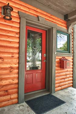 Adding an attractive door surround extreme how to for Exterior decorative trim for homes