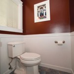 Installing Wainscot in a Powder Bath