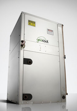 Made in the USA, THE Geocool eco-friendly series geothermal heat pumps provide homeowners with comfort and performance in one compact, easy-to-install unit. Geothermal heat pumps are eligible for a federal energy tax credit up to 30 percent.
