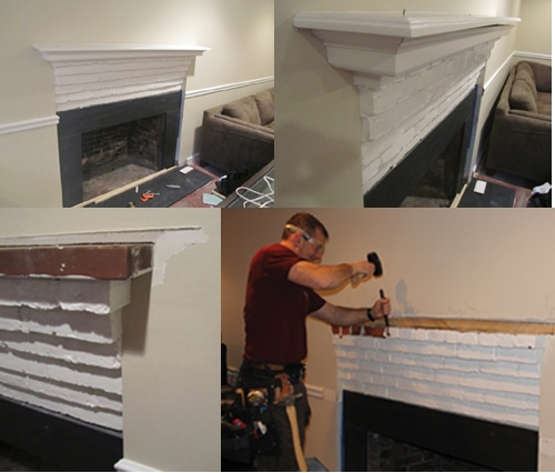 Installing A Custom Fireplace Mantel Extreme How To