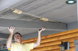 Transforming A Porch Ceiling Extreme How To