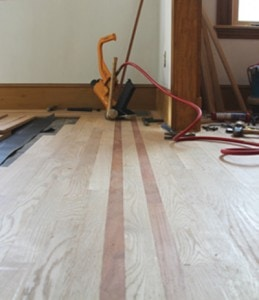 Installing A Hardwood Border And Feature Extreme How To