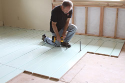 Warmboard radiant heating extreme how to for Warmboard cost