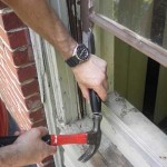 Single-Pane Window Glass Repair