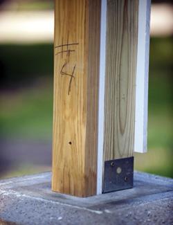 Installing urethane column wraps extreme how to for Fypon column wrap