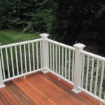 LEAD finished railing