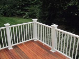 LEAD finished railing
