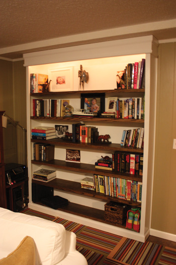 Building A Built In Bookcase Extreme How To
