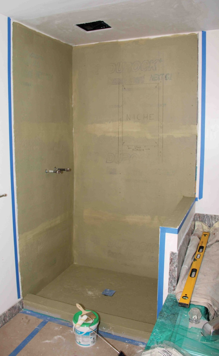 Liquid Waterproofing And Vapor Barriers For Tile Showers