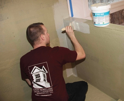 liquid waterproofing and vapor barriers for tile showers - extreme