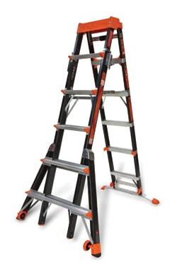 Little Giant Ladders builds on the solid reputation of the company's wide range of multiladders by designing its latest Xtreme Type 1A (300-lb. capacity) to be easier to store and carry than any comparable model.